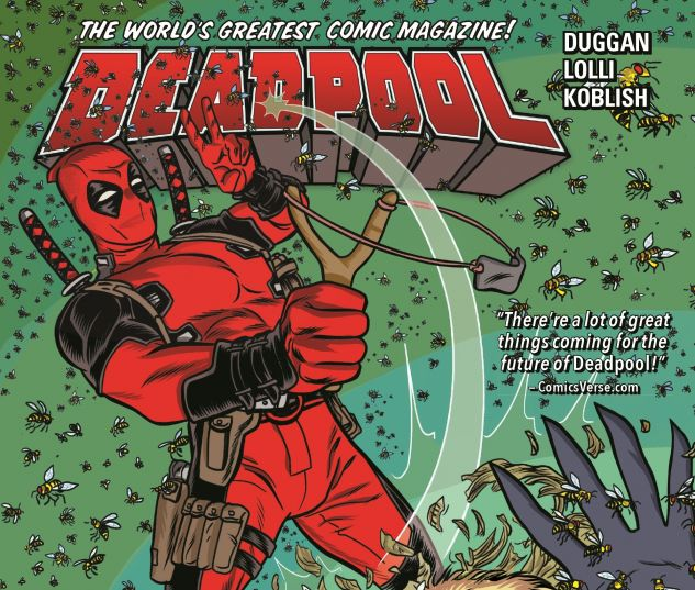 cover from Deadpool (2017)