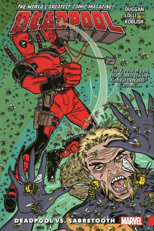 Deadpool: World's Greatest Vol. 3 - Deadpool Vs. Sabretooth (Trade Paperback)