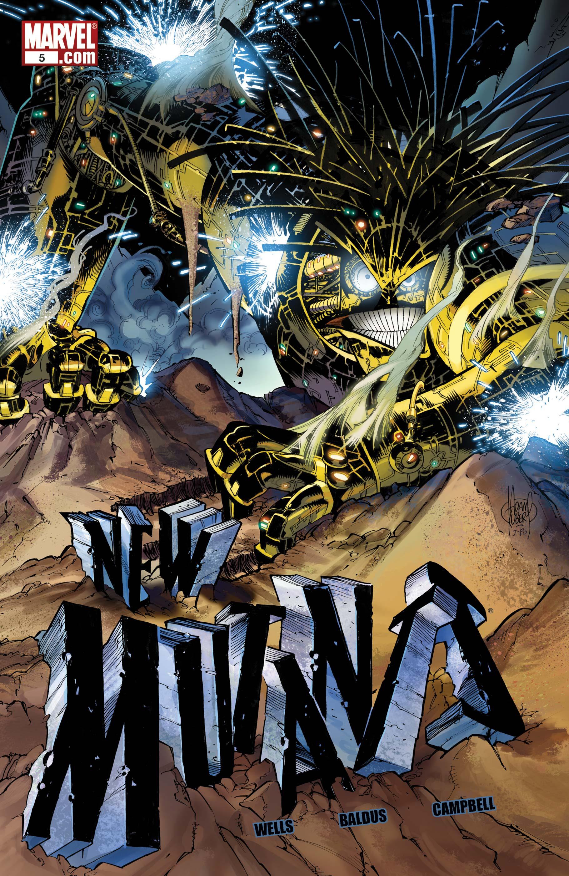 New Mutants (2009) #5