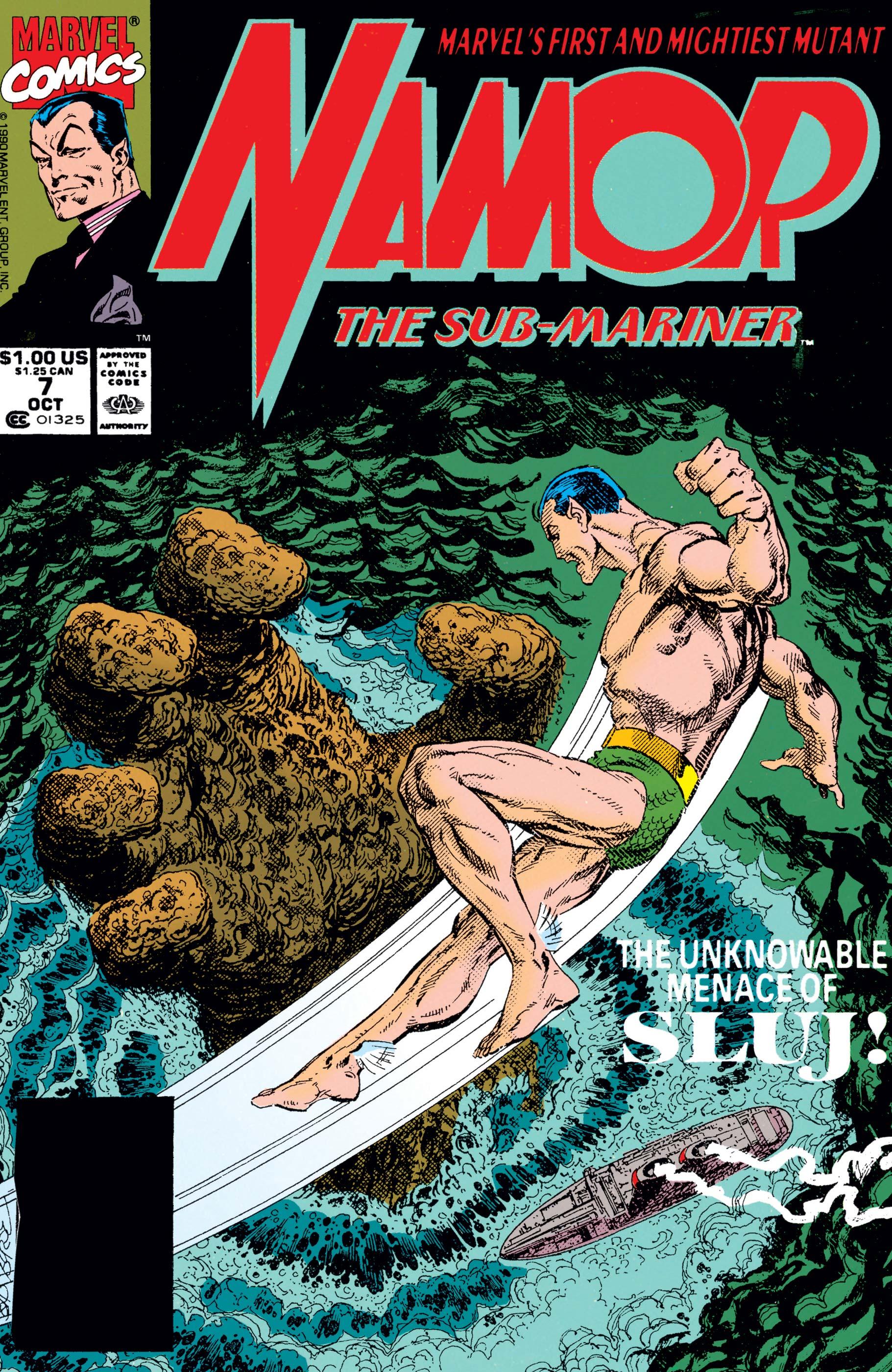 Namor: The Sub-Mariner (1990) #7