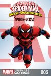 cover from Marvel Universe Ultimate Spider-Man: Spider-Verse Infinite Comic (2018) #5