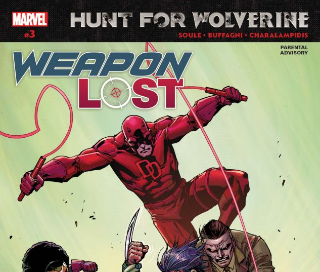 cover from Hunt for Wolverine: Weapon Lost (2018) #3