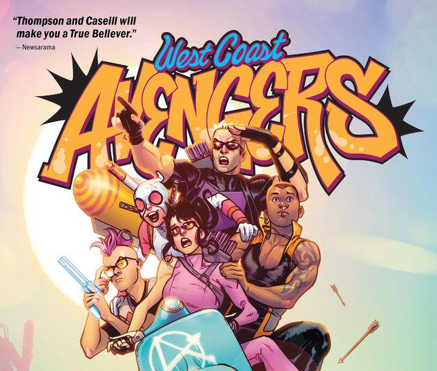 WEST COAST AVENGERS VOL. 1: BEST COAST TPB #1