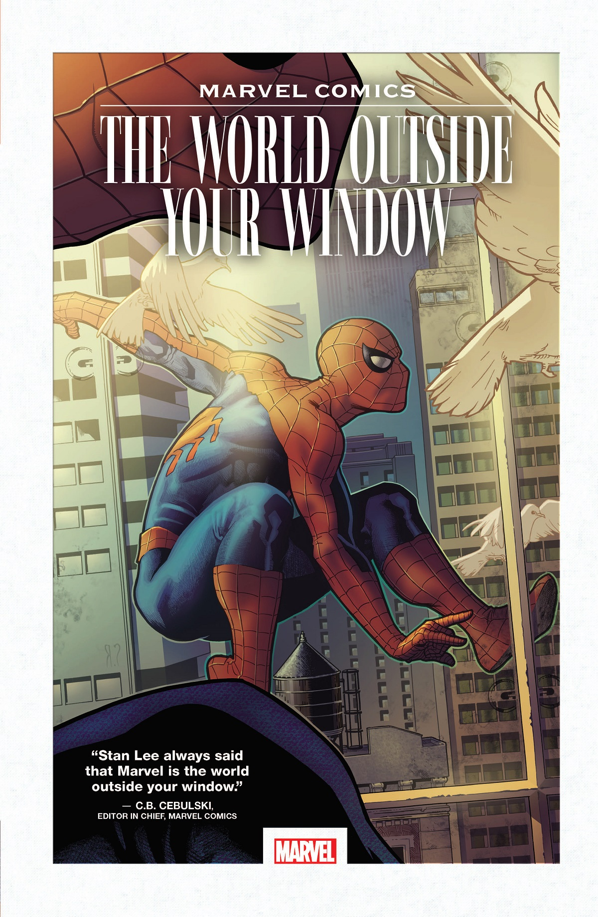 Marvel Comics: The World Outside Your Window (Hardcover)