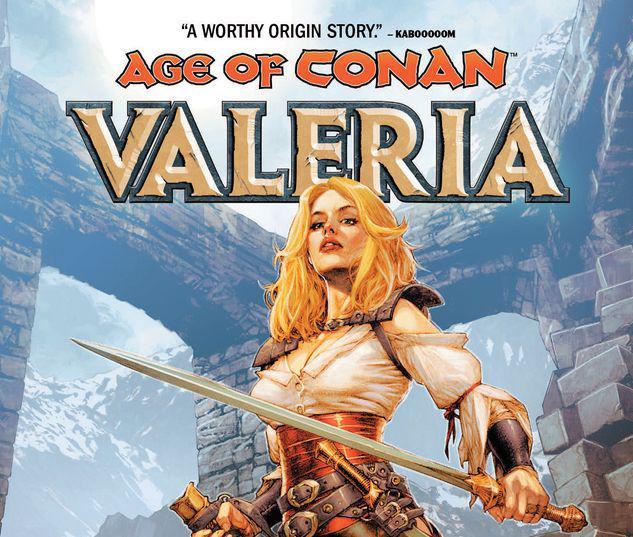 AGE OF CONAN: VALERIA TPB #1