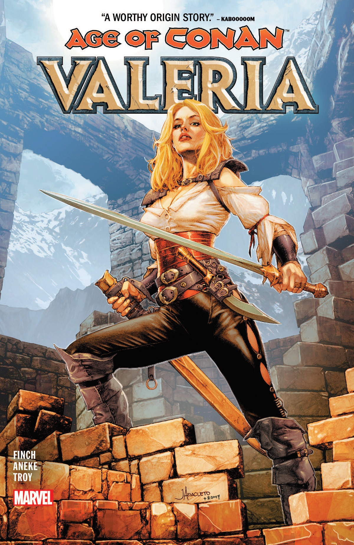 Age Of Conan: Valeria  (Trade Paperback)
