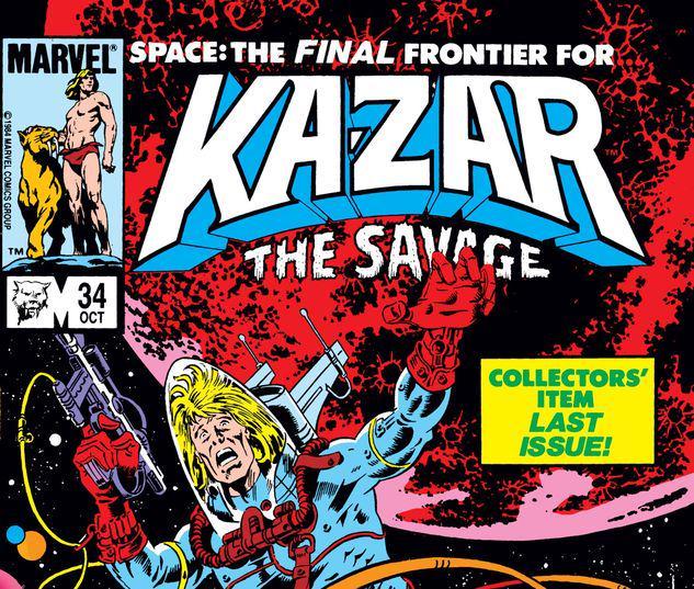 Ka-Zar the Savage #34