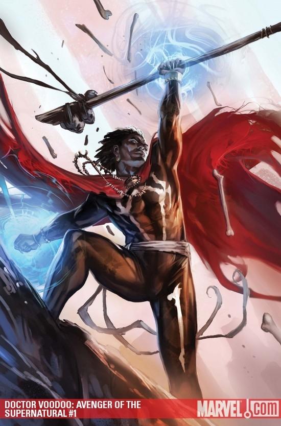 Doctor Voodoo: Avenger of the Supernatural (2009) #1