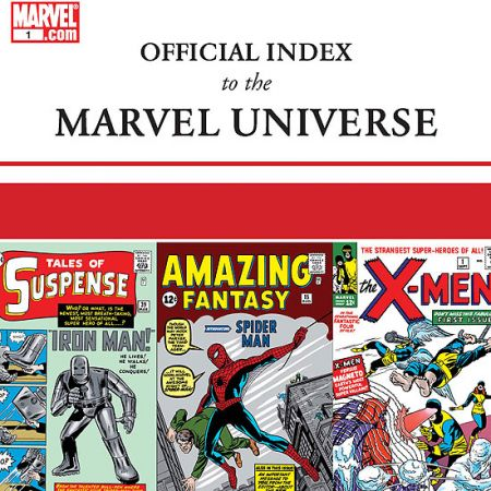 OFFICIAL INDEX TO THE MARVEL UNIVERSE #1