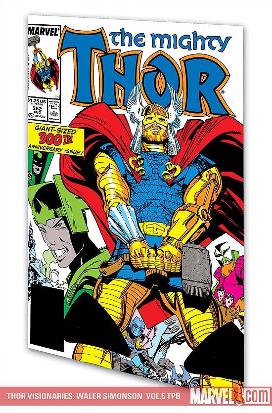 Thor Visionaries: Walter Simonson Vol. 5 (Trade Paperback)