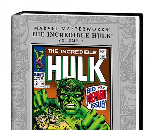 MARVEL MASTERWORKS: THE INCREDIBLE HULK VOL.3 COVER