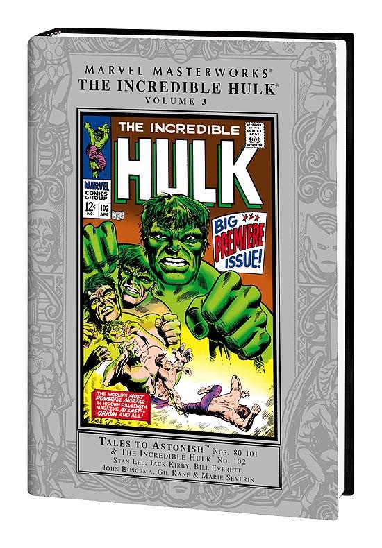 Marvel Masterworks The Incredible Hulk vol 8 Hardback Variant Cover first print
