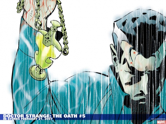 Doctor Strange: The Oath (2006) #5 Wallpaper