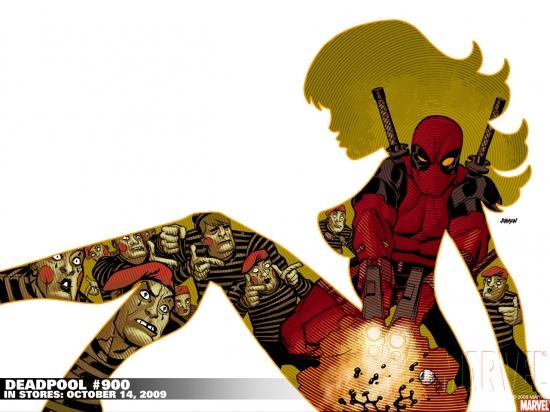 Deadpool (1997) #900 Wallpaper