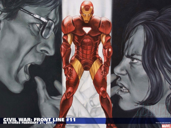 Civil War: Front Line (2006) #11 Wallpaper