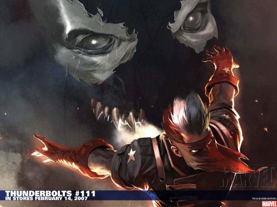 Thunderbolts (2006) #111 Wallpaper