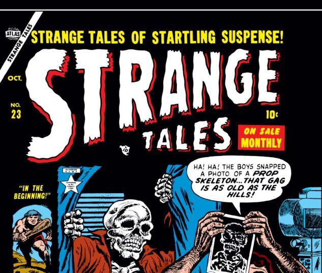 Strange Tales (1951) #23 Cover