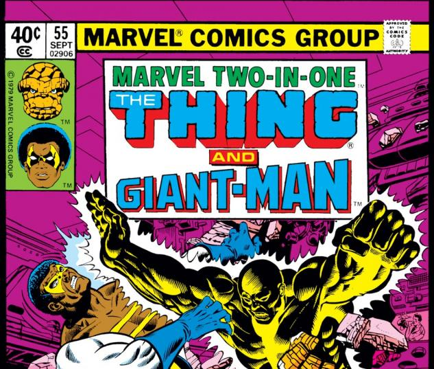 Marvel Two-in-One (1974) #55 Cover