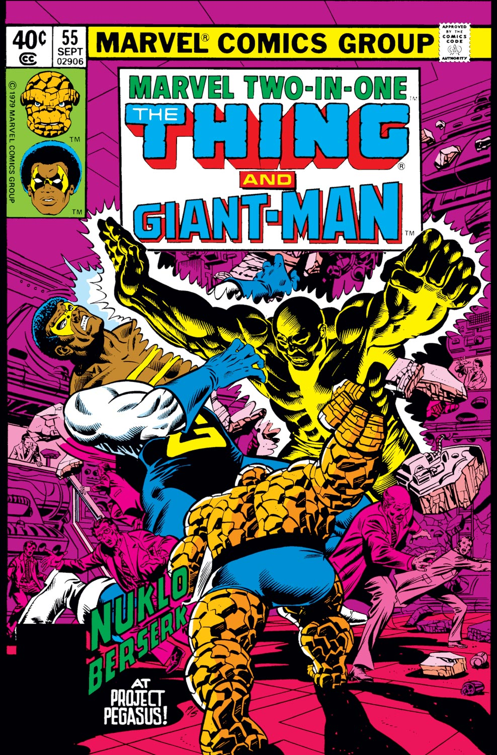 Marvel Two-in-One (1974) #55