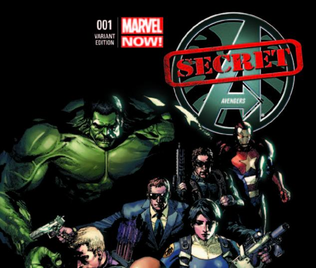 SECRET AVENGERS 1 YU VARIANT (NOW, 1 FOR 50, WITH DIGITAL CODE)