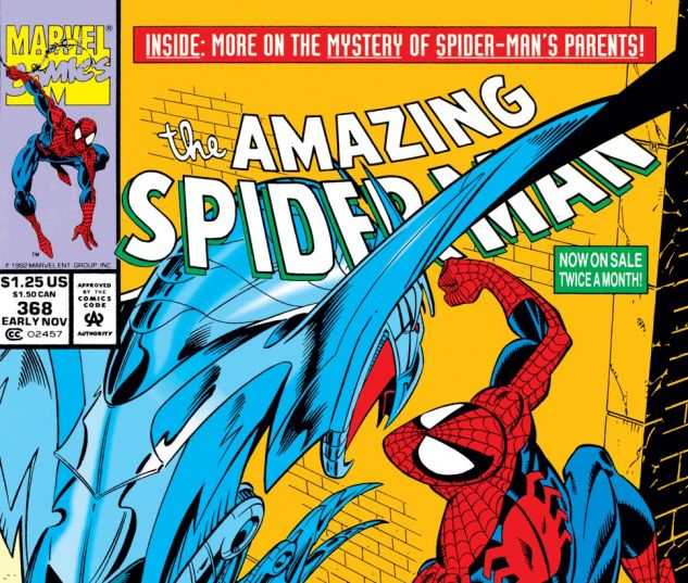 Amazing Spider-Man (1963) #368 Cover