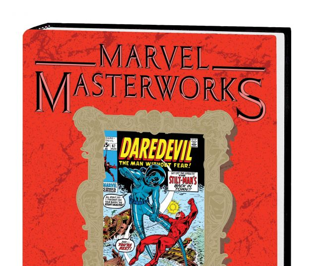 MARVEL MASTERWORKS: DAREDEVIL VOL. 7 HC VARIANT (DM ONLY)