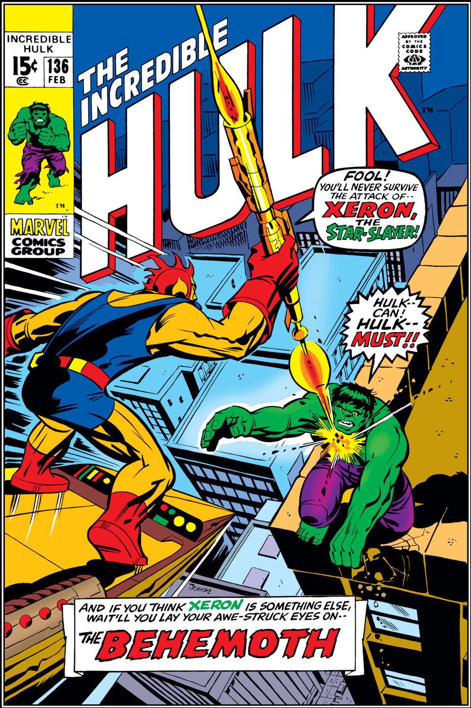 Incredible Hulk (1962) #136