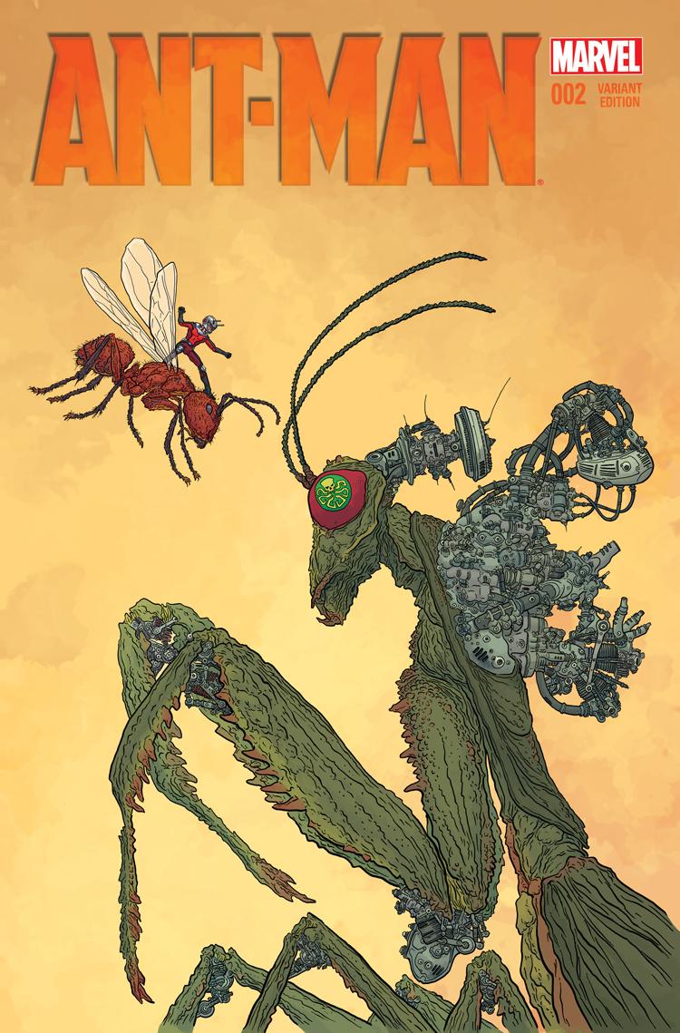 Ant-Man (2015) #2 (Darrow Variant)