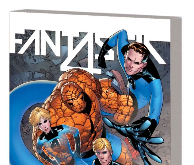 FANTASTIC FOUR VOL. 3: BACK IN BLUE TPB