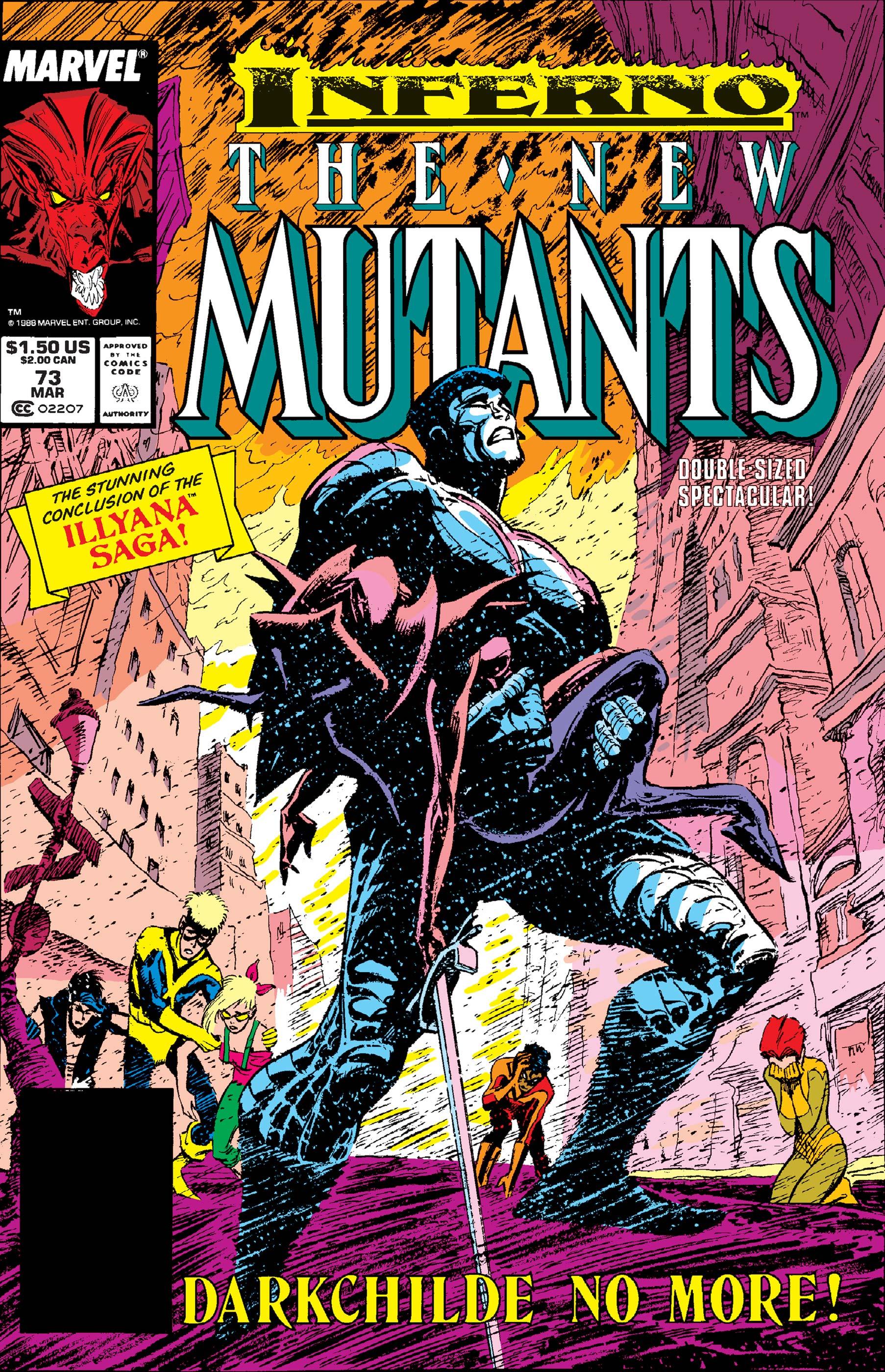 New Mutants (1983) #73
