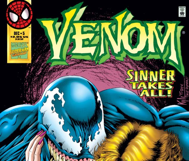 Cover for VENOM: SINNER TAKES ALL 5