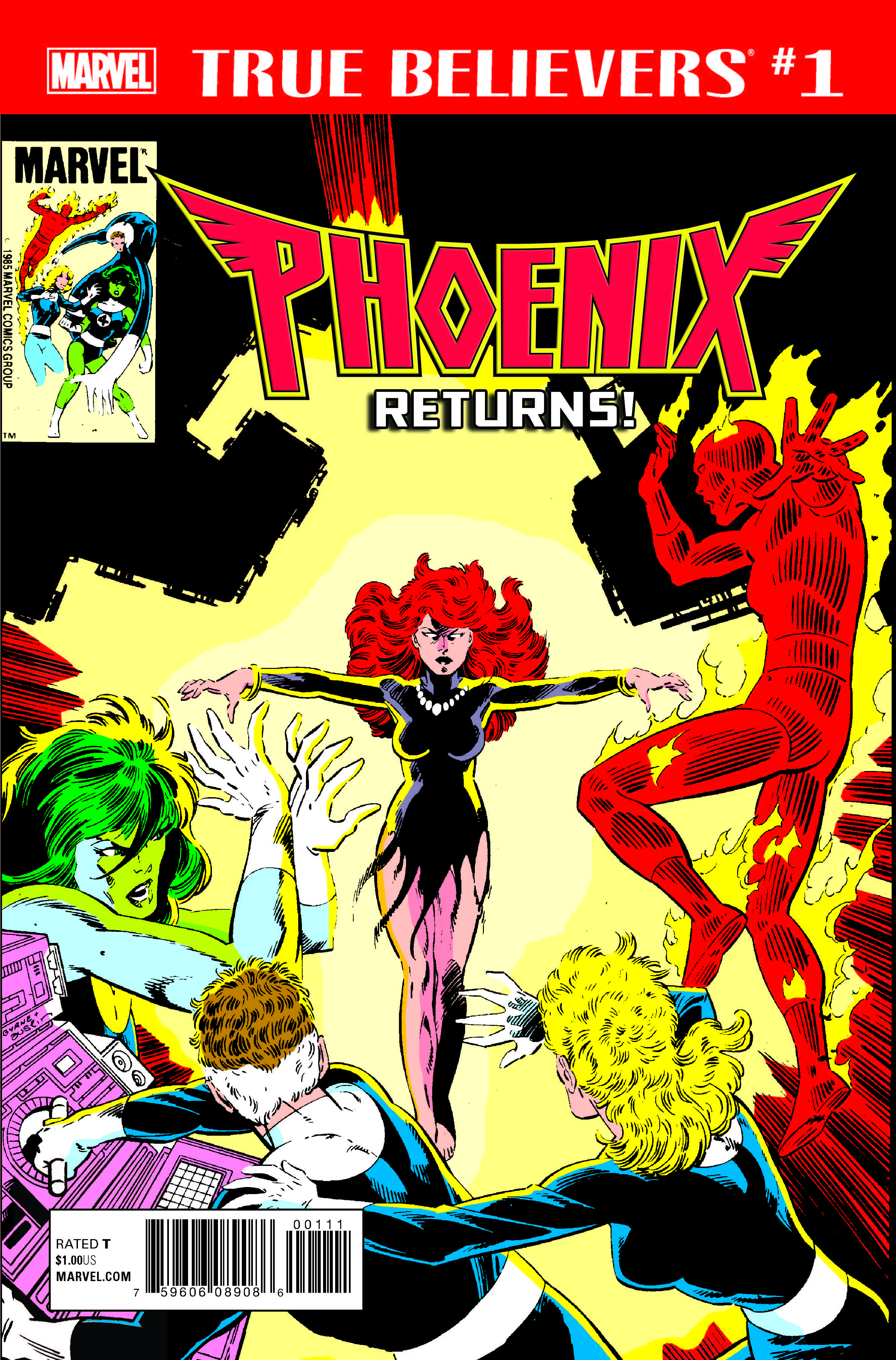 True Believers: Phoenix Returns (2017) #1