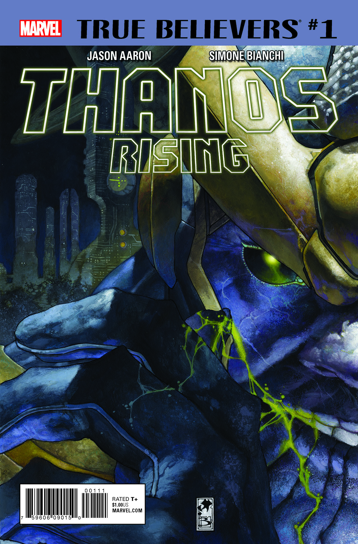 True Believers: Thanos Rising (2018) #1