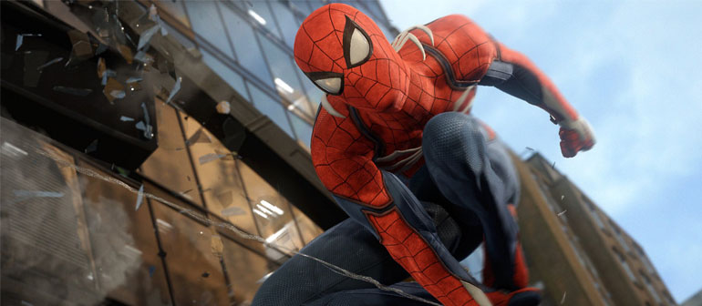 MARVEL'S SPIDER-MAN SWINGS INTO ACTION @ E3 & WICCAN CONJURES UP MAGIC