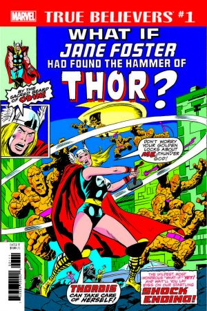 TRUE BELIEVERS: WHAT IF JANE FOSTER HAD FOUND THE HAMMER OF THOR? 1 (2029) #1