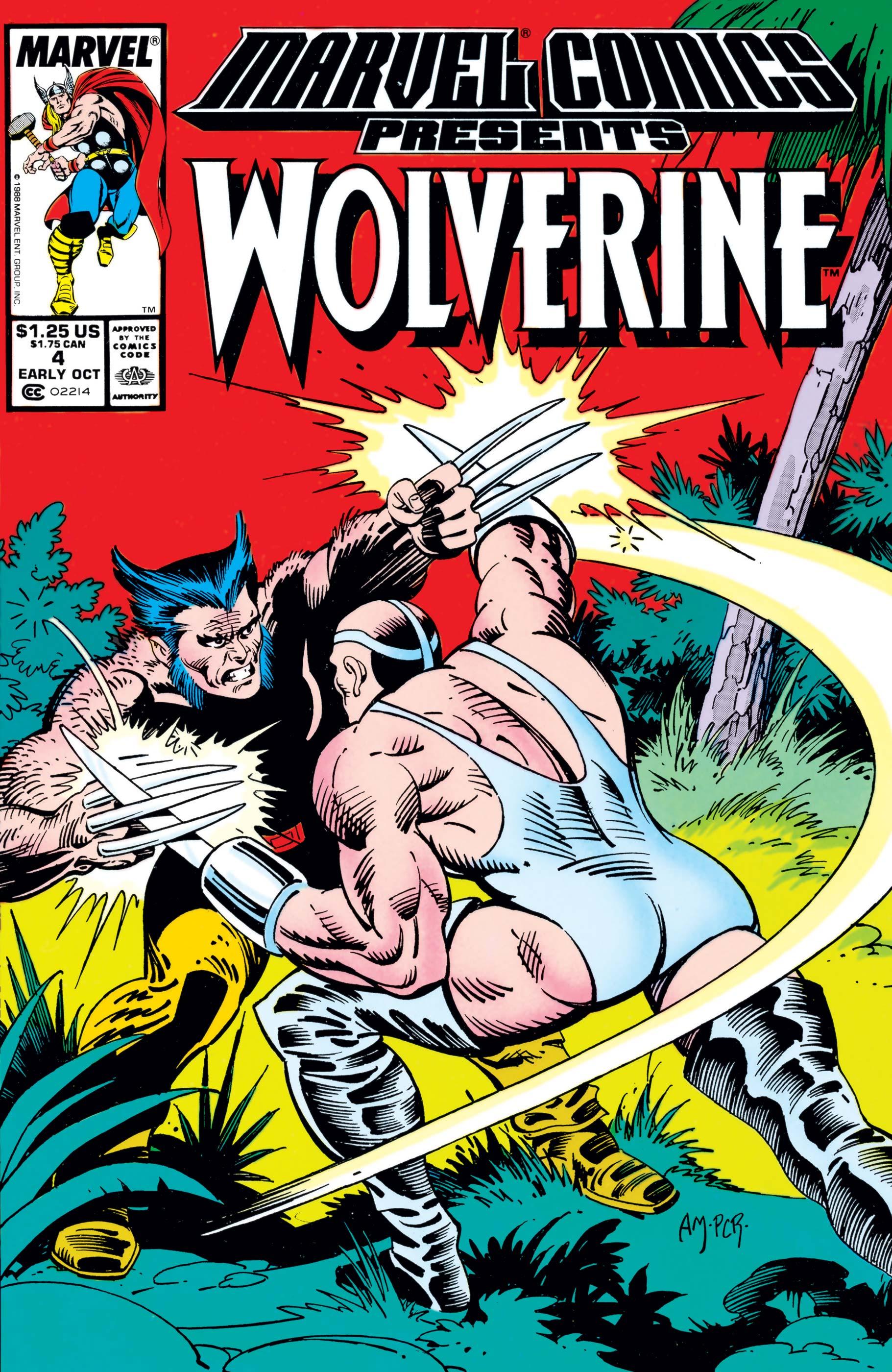 Marvel Comics Presents (1988) #4