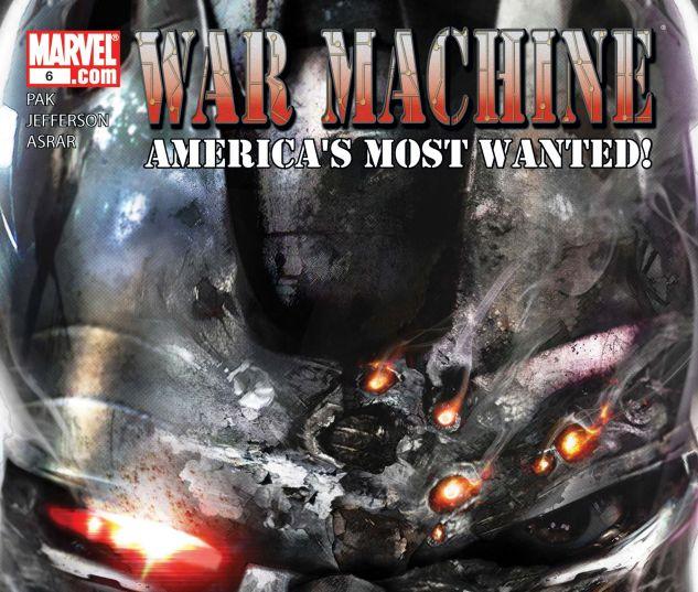 War Machine (2008) #6