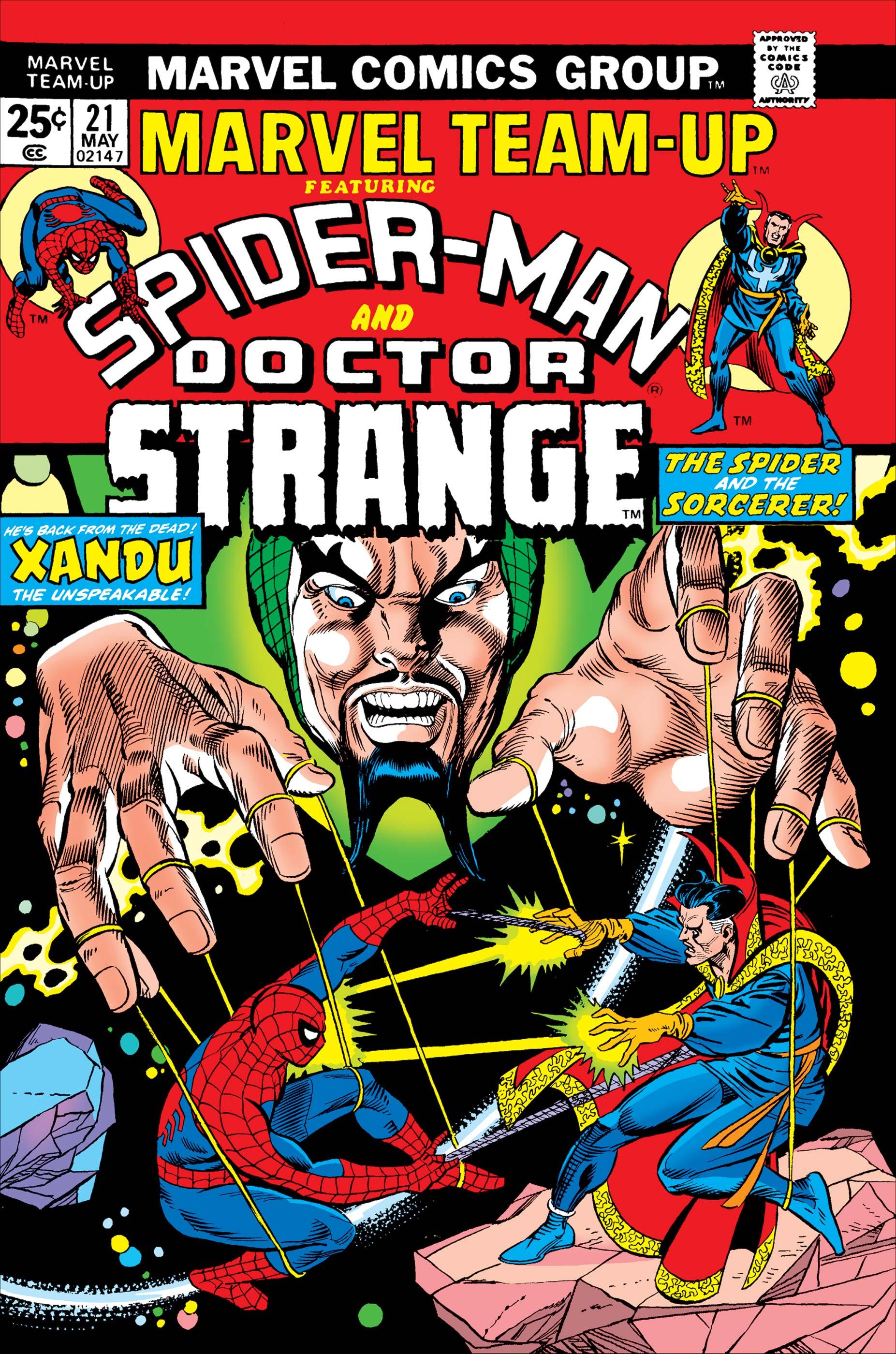 Marvel Team-Up (1972) #21