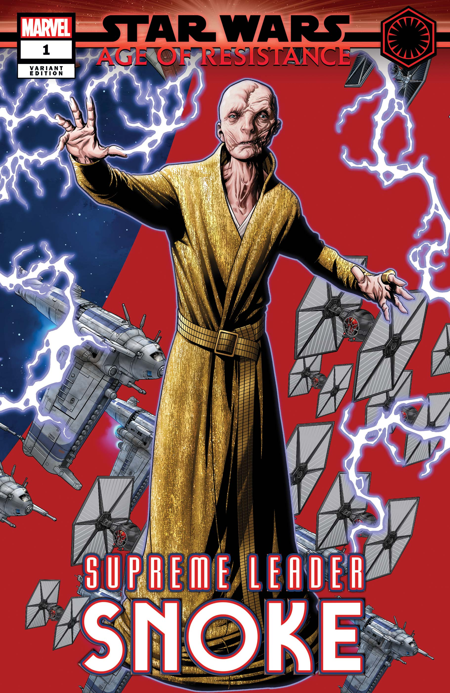 Star Wars: Age Of Resistance - Supreme Leader Snoke (2019) #1 (Variant)