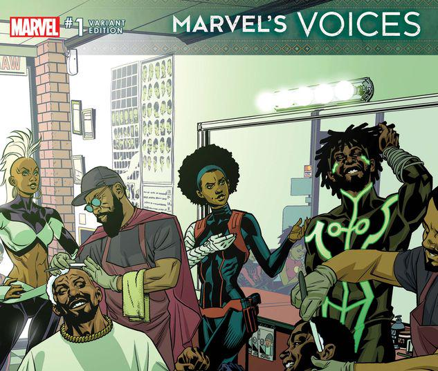 MARVEL'S VOICES 1 STELFREEZE VARIANT #1