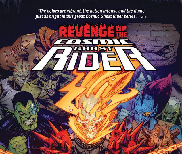 REVENGE OF THE COSMIC GHOST RIDER TPB #1