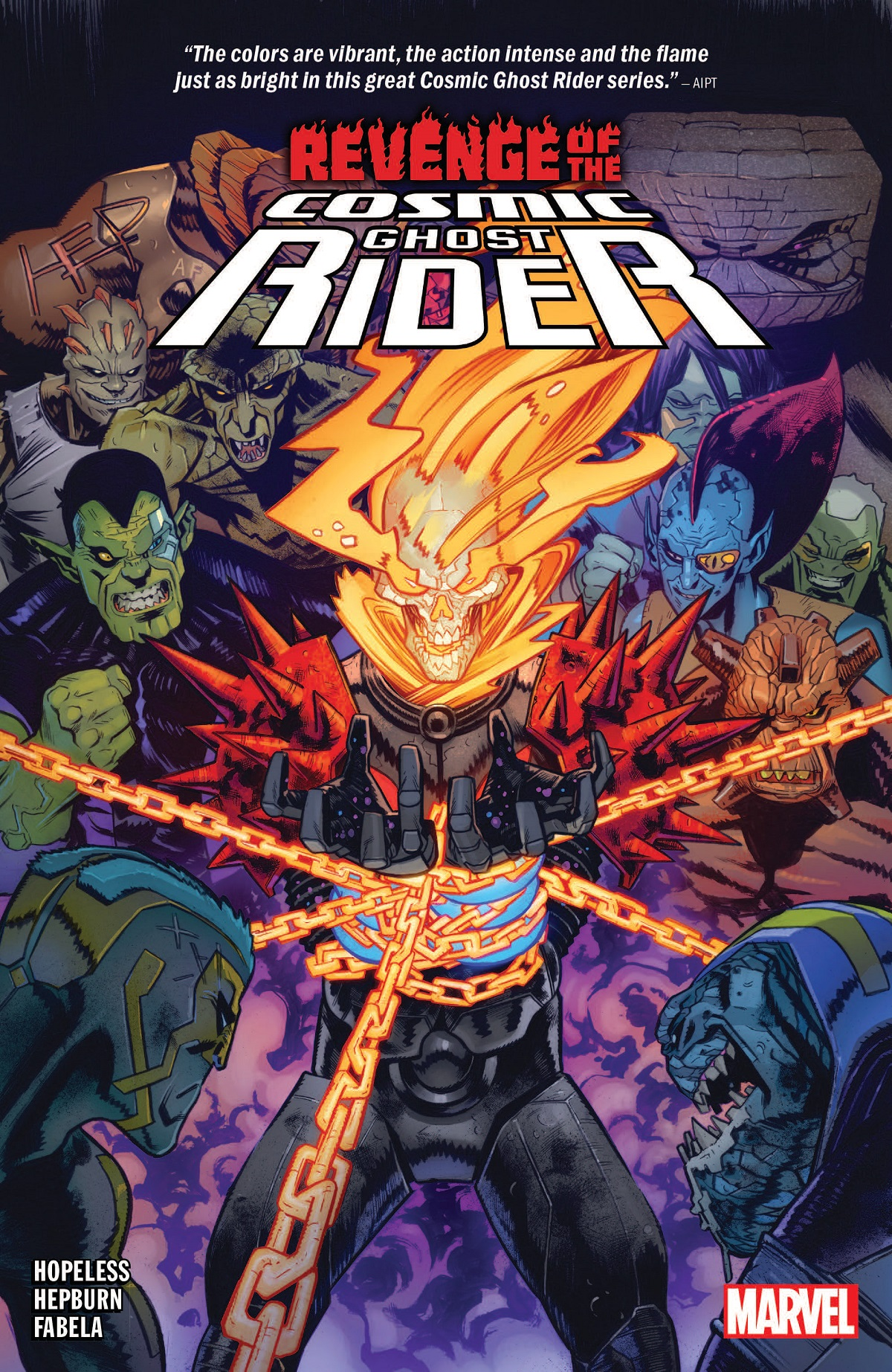 Revenge of the Cosmic Ghost Rider (Trade Paperback)