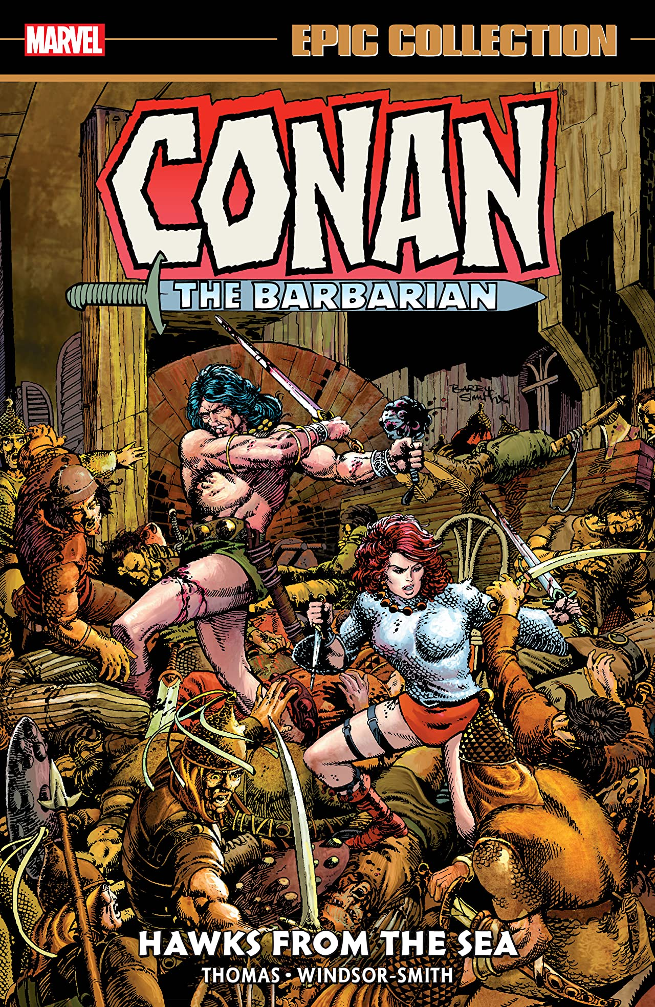 Conan The Barbarian Epic Collection: The Original Marvel Years - Hawks From The Sea (Trade Paperback)