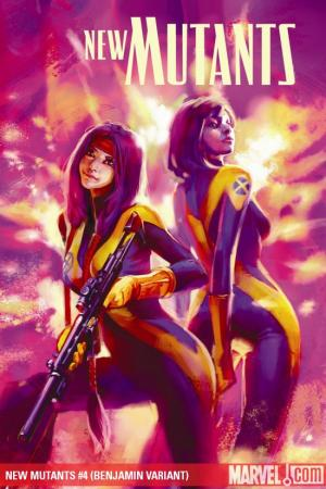 New Mutants (2009) #4 (BENJAMIN VARIANT)
