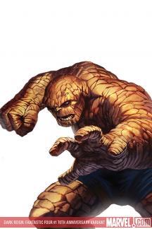 Dark Reign: Fantastic Four (2009) #1 (DJURDJEVIC 70TH ANNIVERSARY VARIANT)
