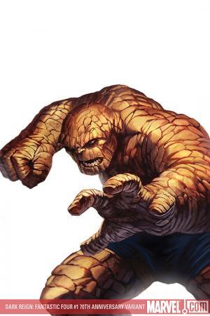 Dark Reign: Fantastic Four (2009) #1 (70th Anniversary Variant)