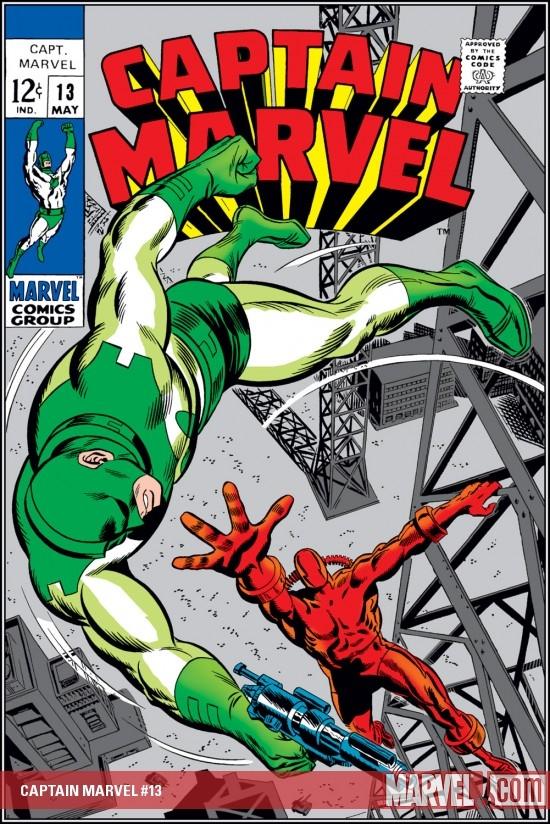 Captain Marvel (1968) #13