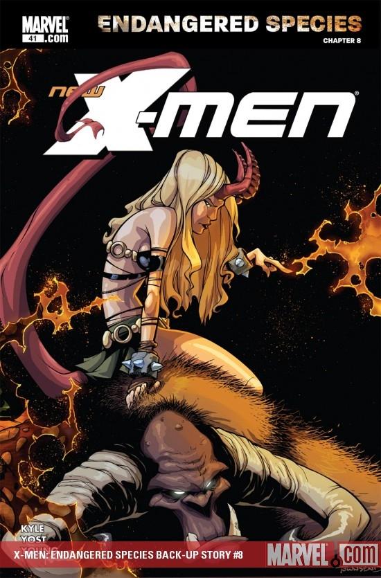 X-Men: Endangered Species Back-Up Story (2007) #8