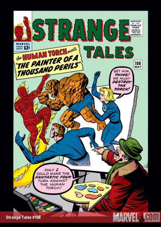 Strange Tales (1951) #108