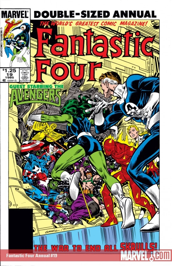 Fantastic Four Annual (1963) #19